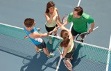 Tennis Young Social and Fabulous