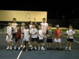 Current Tennis Students of Coach Albert Teo