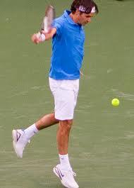 How to hit a Roger Federerer backhand