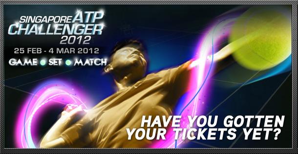 Singapore ATP challaneger 2012 - TENNIS
